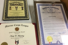 Noah Festerling Eagle Scout award 2
